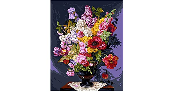 Hand Embroidery Kits Embroidery & Cross Stitch Bouquet Champetre Grafitec Printed Tapestry/Needlepoint Canvas