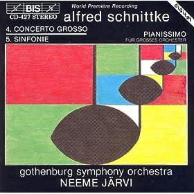 """Schnittke: Concerto Grosso No. 4 (""""Symphony No. 5"""") / Pianissimo"""