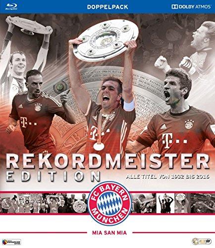 Bild von FC Bayern München - Rekordmeister Edition - Alle Titel von 1932 bis 2016 [Blu-ray]