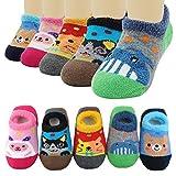 EINSKEY Babysocken Neugeborenes Antirutsch Winter Warm Baby ABS Socken für 0-12 Monate Junge Mädchen