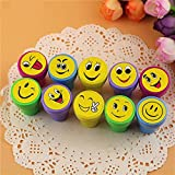 #5: Pack of 1 Smiley Stamps Set of 10 For Birthday Return gifts for kids