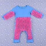 L Y Kinder MOPP Einteiliger Anzug Baumwolle Kleidung Junge Mädchen Krabbeln Kleidung Baby Mopp,3,80
