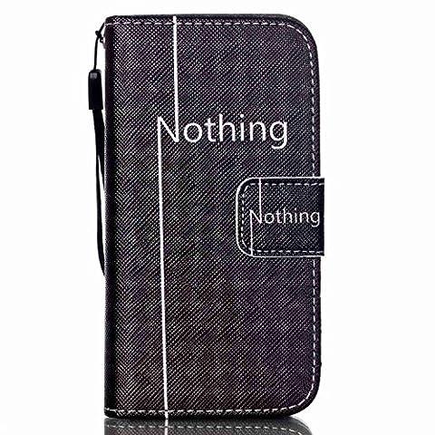 Jepson Samsung Galaxy S4 Mini I9190 i9195 (4.3 pouces) coque , PU cuir flip housse Étui Cover Case Wallet Stand avec Carte de Crédit Fentes pour , idéal pour protéger votre téléphone ,