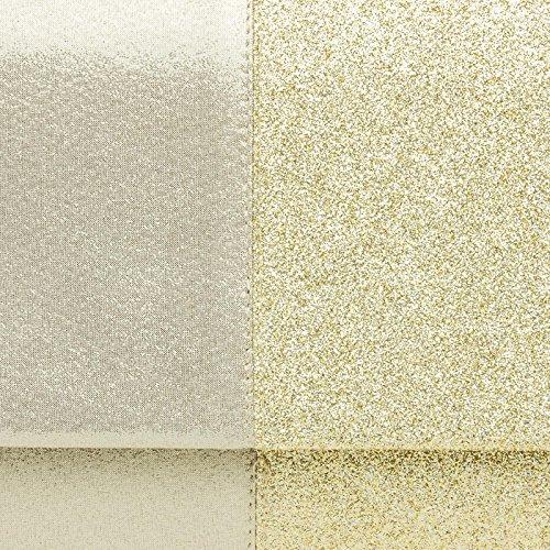CASPAR TA416 Donna Pochette Grande Bicolore Oro