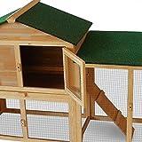Kaninchenstall, Deuba, doppelstöckig, variabel aufstellbar - 5