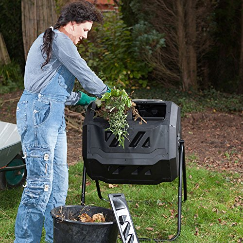 Zoom IMG-5 wiltec compostiera girevole da giardino