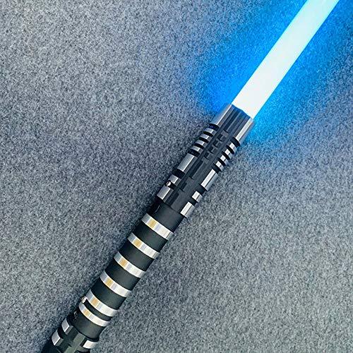 gengyouyuan Épée de Jouet rougeante RGB métallisable épée de Jouet de lumière