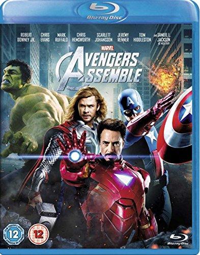 Marvel Avengers Assemble [Blu-ray] [VHS]
