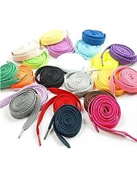 Cordones para deportivas o zapatos de la marca Oulii, 12pares (varios colores)