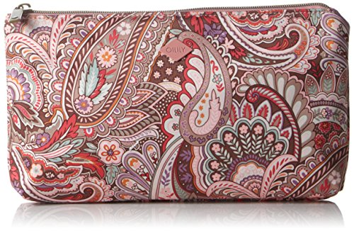 oilily-womens-oilily-flat-make-up-pouches-pink-size-26x3x15-cm