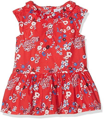Petit Bateau Baby-Mädchen Kleider Robe MC_22033, Mehrfarbig (Peps/Multico 31), 62 (Herstellergröße: 3m/60cm) (Popeline Mit Blumen-print)