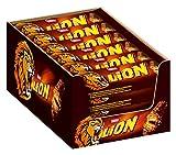 Lion Snack con Wafer Toffee e Cereali Ricoperti di Cioccolato al Latte - Pacco da 24 x 42 g - Totale: 1 kg