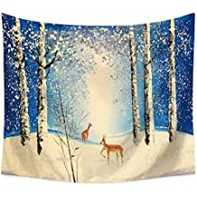 JLA Tapestry,Christmas Wall Hanging, Suitable For Living Room Bedroom Corridor Kitchen Decoration, Multi-Functional Cushion, Beach Towel,Tablecloth,Polyester,B,150X130cm