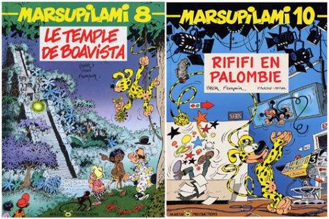 Marsupilami : pack numéro 3, coffret 3 volumes (tomes 6, 8 et 10)