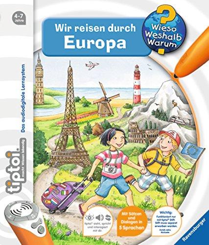 Preisvergleich Produktbild Ravensburger 006274 tiptoi® Wieso Weshalb Warum - Wir reisen durch Europa