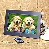 10 '' HD TFT-LCD 1024x600 Digital Digital Bilderrahmen Photo Frame als Uhr MP3-MP4 Video-Player mit Ferndesktop
