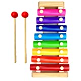 STOCKHOLM Xylophone for Kids, Glockenspiel with Best Educational Development Musical Kid Toy as Birthday/Holiday Gift…