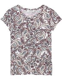Promod T-Shirt mit floralem Print
