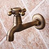 QINLEI europäische antike bad waschmaschine mopp pool wasserhahn single bis in die wand aus wasserhahn,b