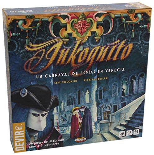 Devir - Inkognito, juego de mesa (BGINKO)