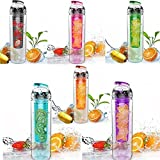 #8: Fruity Fresh Infuser Water Bottle, 700 ml (Color May Vary)