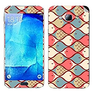 Theskinmantra Fishes Samsung Galaxy A8 mobile skin