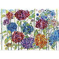 Grafika Puzzle 1000 Teile - Sally Rich - Summer Hydrangeas
