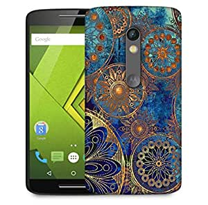 Snoogg Antique Formations Designer Protective Phone Back Case Cover For Motorola Moto X Play