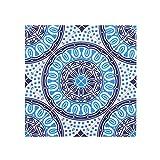 27 Verschiedene Musterform Selbstklebende Wasserdichte 15x15, 20x20cm Mosaikfliesen Fliesenfolie Fliesensticker Wandfliesenaufkleber für Bad Küche, Wandaufkleber PVC-Fußboden