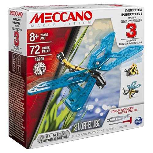 Meccano 6026714 - Spielzeug - 3 Model Set, Insects