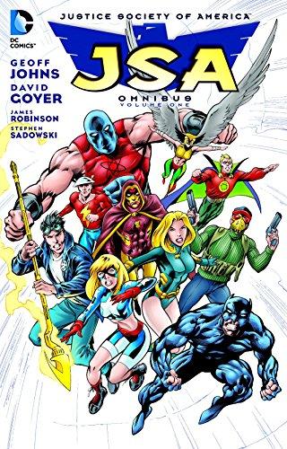 JSA Omnibus Volume 1 HC por Geoff Johns