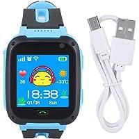 Kid Smart Watch Phone - GPS Tracker Smartwatch, SOS Call Flashlight e Safe Touch Screen Smart Watch per bambini Kid…