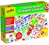 Lisciani Giochi 60924 - Carotina Penna Parlante Dizionario Multikit Ambienti Lessicali