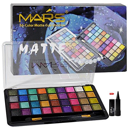 Mars 36 Color Matte Eye Shadow Free Laperla Kajal-02