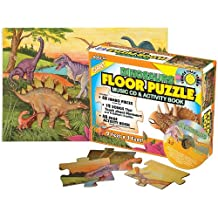 Dinosaurs Floor Puzzle: Music & Activity Books