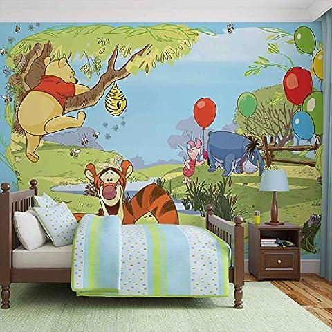 Disney Winnie Pu Bär Ferkel TigerI-Aah - Forwall - Fototapete