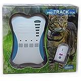 Girafus PRO-Track-Tor Localizzatore Gatto/Senza Abbonamento/Tracciatore Cercatore Localizzazione Preciso RF per AnimaIi Domes