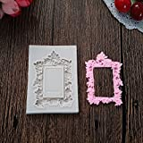 #10: Pinkdose® Lace Frame Silicone Mould Cupcake Polymer Clay Chocolate Resin Fimo Mold Fondant Baking Craft