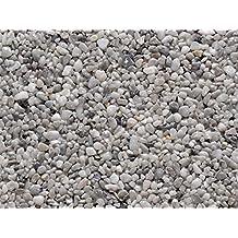 PaviPlan® 1 m² Steinteppich-Boden Grigio Argento Marmor 2-4mm PUR-ECO im Mischeimer