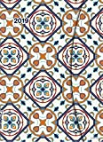 Azulejos 2019 - Magneto Diary large, Buchkalender, Taschenkalender  -  16 x 22 cm