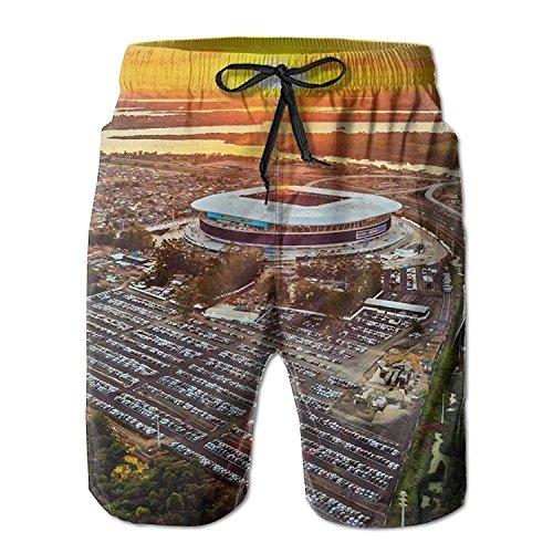 best& Gremio Porto Alegre Pattern Men's/Boys Casual Shorts Swim Trunks Swimwear Elastic Waist Beach Pants with Pockets L (Golf Boys Oakley)
