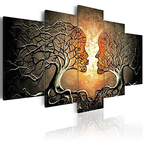 murando - Bilder 200x100 cm - Vlies Leinwandbild - 5 Teilig - Kunstdruck - modern - Wandbilder XXL - Wanddekoration - Design - Wand Bild - Abstrakt h-A-0086-b-p