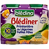 Bledina Blediner Vegetables and Pasta (10 months) 2 x 200g