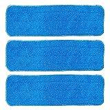 Kaifang, panno di ricambio in microfibra per mocio spray, per mocio con panni asciutti e bagnati, compatibile con prodotti di pulizia per pavimenti Bona (5pezzi), 5-confezione