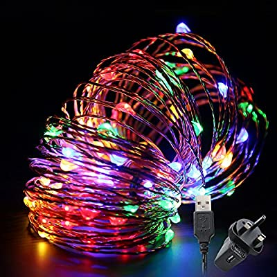 Multi-colour LED String Lights, 10 meters from TechRise - Read Reviews