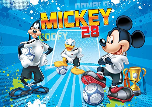 Olimpia Design Fototapete Disney Mickey Mouse, 1 Stück, - Tapete, Disney Kinder, Mädchen,