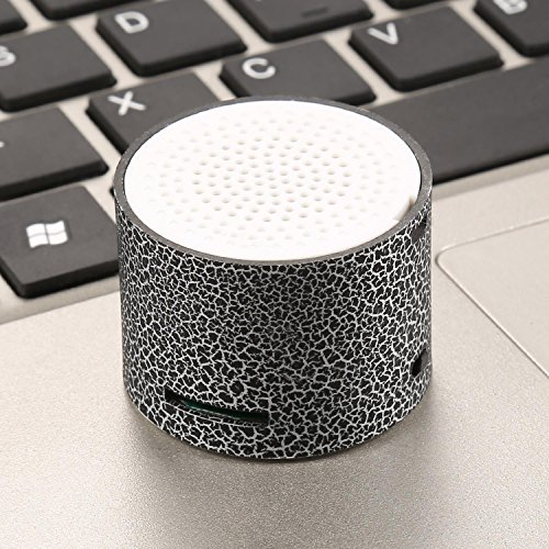 Mini Portable LED Wireless Hands with TF Port PC Speakers