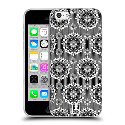 Head Case Designs Occhio Icone Dellantico Egitto Cover Retro Rigida per Apple iPhone 7 Plus / 8 Plus Mesh Mandala