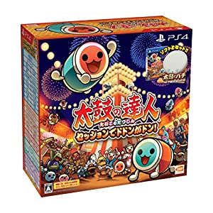 Taiko no Tatsujin Session de Dodon ga Don! Drum & Drum Stick Pack [PS4] [Japanese Import]