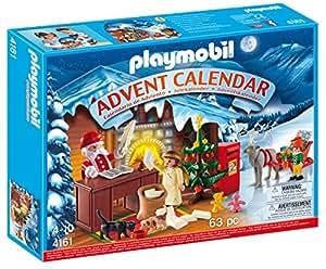 """Playmobil - 4161 - Jeu de construction - Calendrier de l'Avent """"Atelier du Père Noël"""""""